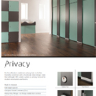 Privacy - Full Height Toilet Cubicles