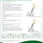AJAX Righthite Mobile Step Unit Technical Sheet