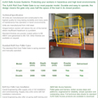 AJAX Standard Safety Pallet Gate Technical Sheet
