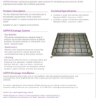 ASPEN Non-standard Manhole Technical Sheet