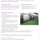 ASPEN Non-standard Bollards Technical Sheet
