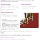 ASPEN Non-standard Bump Rail Technical Sheet