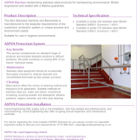 ASPEN Non-standard Handrail & Balustrade Technical Sheet