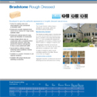 Bradstone Rough Dressed