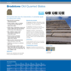 Bradstone Old Quarried Slates