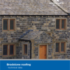 Bradstone roofing - technical data