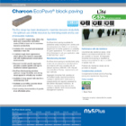 Charcon EcoPave® block paving
