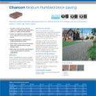 Charcon Woburn Rumbled block paving