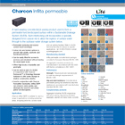 Charcon Infilta permeable