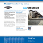 Charcon Courtstone® flag paving