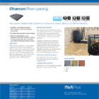 Charcon Riven paving