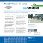 Charcon Ultrapave flag paving
