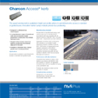 Charcon Access® kerb