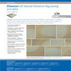 Charcon UK Natural Yorkstone flag paving and setts Colour -Highmoor
