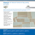 Charcon UK Natural Yorkstone flag paving and setts Colour -Lowmoor