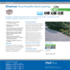 Charcon Countrysetts block paving