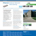 Charcon Andover Textured block paving