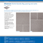 Charcon World Granite flag paving and setts Colour - G2060 Pink