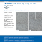 Charcon World Granite flag paving and setts Colour - G2010 Silver Grey