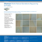 Charcon World Granite flag paving and setts Colour - S1030 Buff Multi