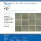 Charcon World Granite flag paving and setts Colour - S1020 Buff