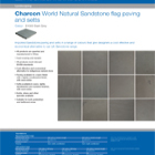 Charcon World Granite flag paving and setts Colour - S1050 Dark Grey