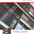 Structural aluminium sunprotection brochure