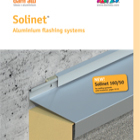 Solinet Catalogue - Roof / Waterproofing termination profiles