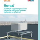 Sherpal Catalogue - Machinery support solutions on roof areas