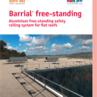 Barrial Freestanding roof edge protection.