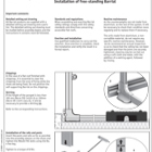 Barrial Free-Standing Installation Guide