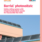 Barrial Photovoltaic - PV and edge protection Unique combination