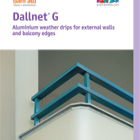 Dallnet G Catalogue - Balcony slab edge profiles
