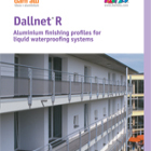 Dallnet R Catalogue - Balcony slab edge profiles