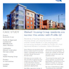 Project Datasheet: Walsall Social Housing