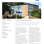 Project Datasheet: Buxton Medical Centre