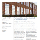 Project Datasheet: Varndean College