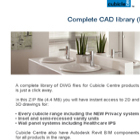 Cubicle Centre CAD Library