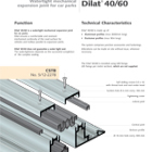 Dilat Catalogue - Car park expansion joint systems