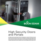 High Security Door and Portals Catalogue