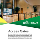 Access Gates Catalogue
