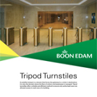 Tripod Turnstiles Catalogue