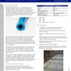 Injectable Water Bar: Newton 302 InjectionHose Technical Data