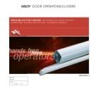 Door Operators Brochure