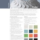 Cube™ Acoustic Multimedia Tech Data