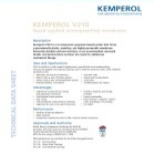 KEMPEROL V210 Tech Data