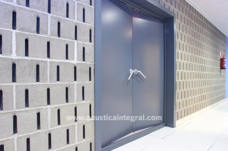 RS ACOUSTIC DOORS,  swinging and sliding
