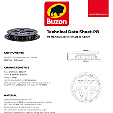 Technical Datasheet PB01 28-42mm