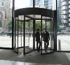 Revolving door, Aviva/Norwich Union headquarters