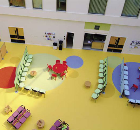 Noraplan<sup>®</sup> signa, installed in the Children&#146;s Hospital for the Manchester Joint Hospitals scheme